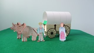 3D Covered Wagon Project