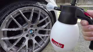 3D BDX vs. SONAX Full Effect Wheel Cleaner