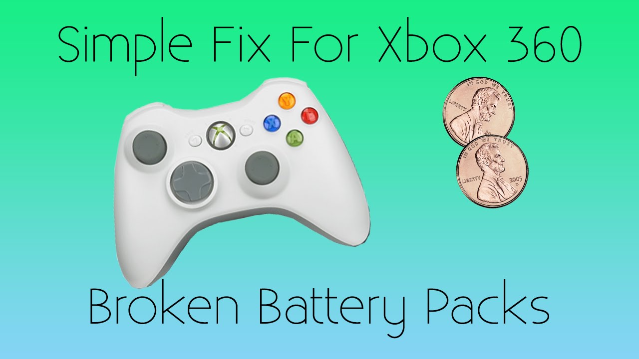 How To Fix Broken Battery Pack For Xbox 360 Controller Youtube Wireless Wiring Diagram