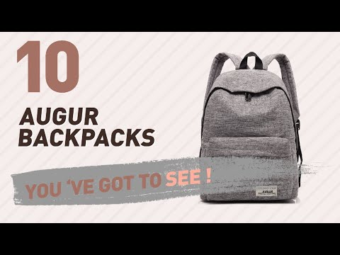 Top Backpacks By Augur // New & Popular 2017