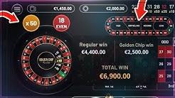 2000€ Einsatz PRO RUNDE (GOLDEN CHIP ROULETTE)