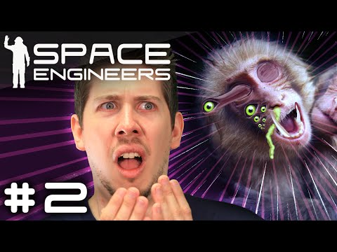 MONKEY VIRUS - Space Engineers [Survival Multiplayer] #2