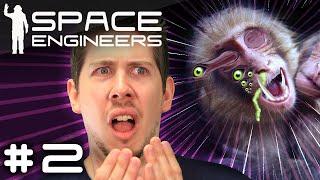 MONKEY VIRUS - Space Engineers [Survival Multiplayer] #2