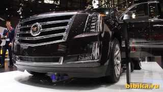 Cadillac Escalade 2014. Женевский Автосалон. Geneva Motor Show