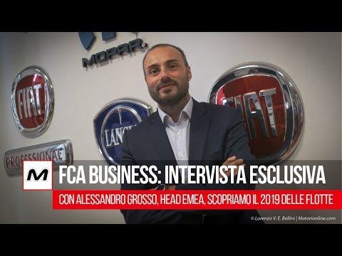 FCA Business & Flotte verso il futuro | Intervista esclusiva ad Alessandro Grosso