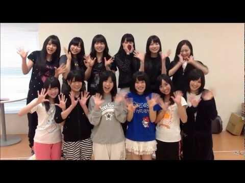 2012/5/14 SKE48 teamE 2nd.「逆上がり」公演START teamEメンバー メッセージ映像