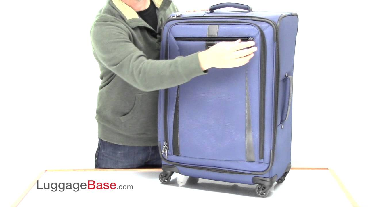 4e20c27df Travelpro Marquis 25 inch Expandable Spinner - YouTube
