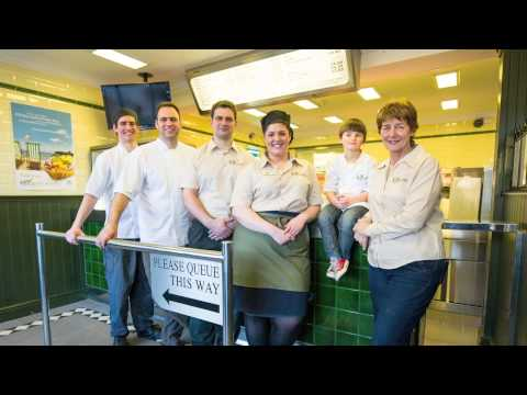 Whitby Fish & Chip Restaurant, Quayside On US National Show RIGHTTHISMINUTE