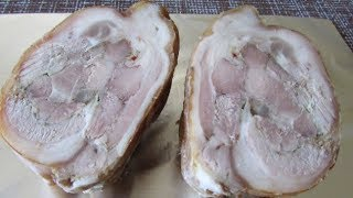 Рулет из свиной рульки / Закуска на праздничный стол