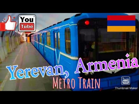 at the train station Armenia Vacation 2017