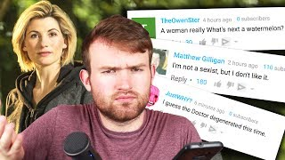 Doctor Who Sexist Reactions - A Dramatic Reading