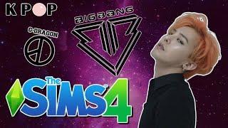 إنشاء Sim| G-Dragon, الانفجار الكبير    + تحميل |لعبة The Sims 4 Kpop