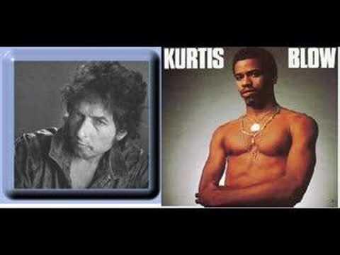 Bob Dylan RAP 1986 Kurtis Blow - Steet Rock 'duet'
