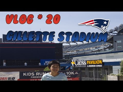 Vlog #20  - My trip to Gillette stadium - ft. random people , Sushi