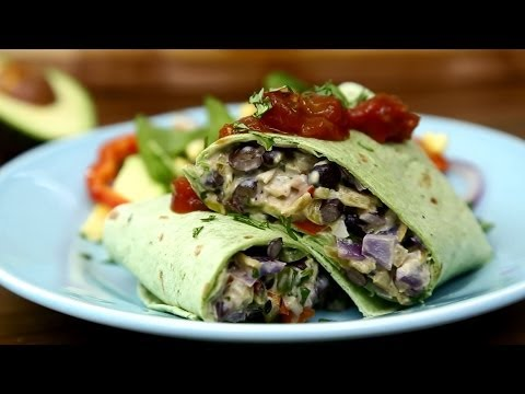 How to Make Black Bean Burritos