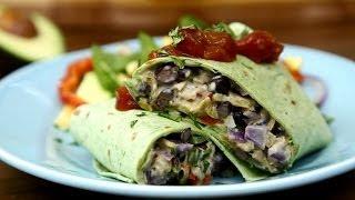 Mexican Recipes - How To Make Black Bean Burritos