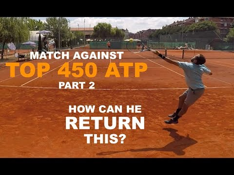 Official Tennis Match Vs Top 450 ATP Player - Futures $15k | PART 2 (TENFITMEN - Episode 84)