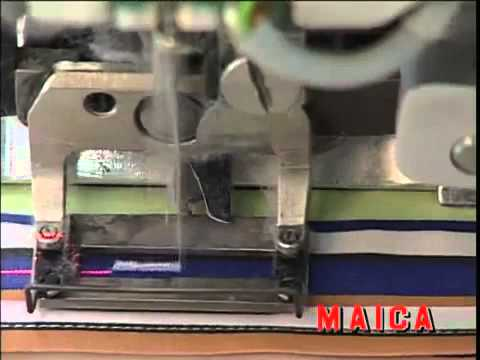 MAICA Italia - MCD Front sewing + MA 04 Buttonholing