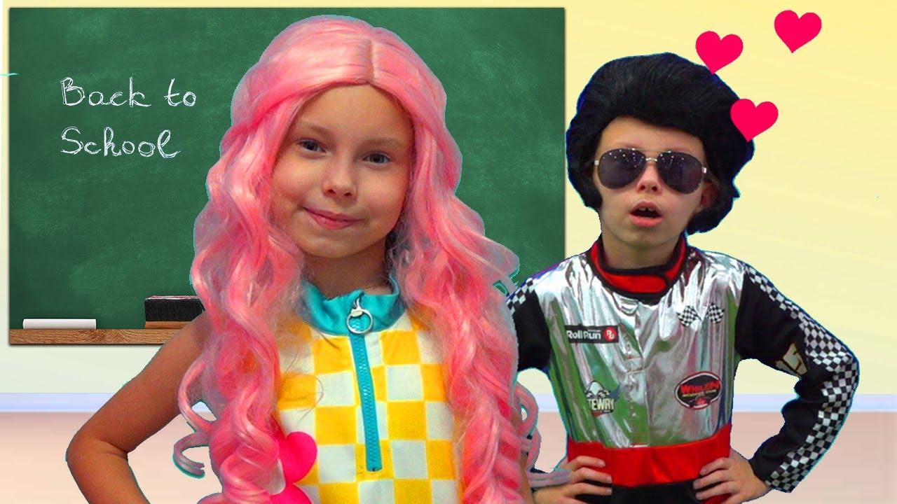 TIPOS de ALUMNAS en la escuela- Historias divertidas para niños