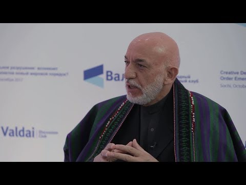 Hamid Karzai on the History and Fate of Afghanistan