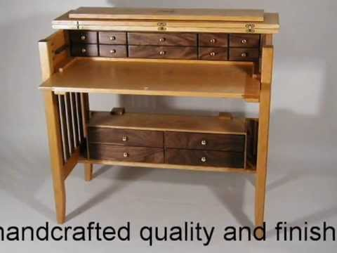 Superb Handcrafted Fly Tying Desk