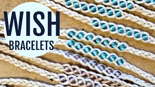 EASY Braided Wish Bracelet with Beads | Quick Summer Bracelet Tutorial