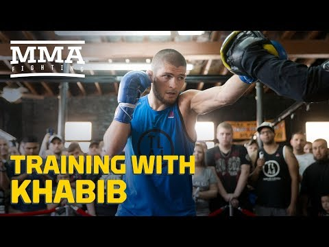 Training With Khabib: Teammates Talk What Makes Nurmagomedov Different - MMA Fighting