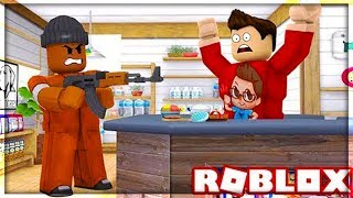 I ROBBED A MARKET WHERE THERE WAS A LOT OF MONEY! Roblox