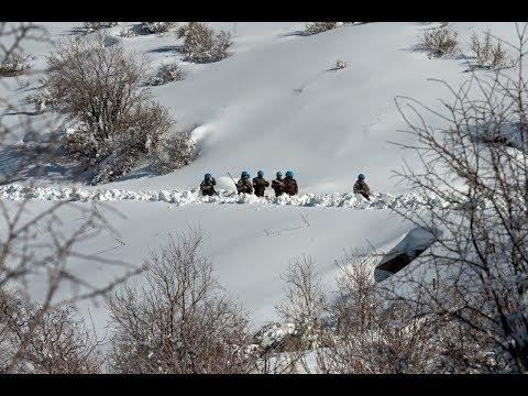 La Brilat se abre camino entre la nieve de Líbano