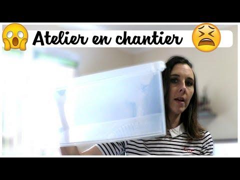 MON ATELIER EST EN CHANTIER 😱 | Cassie Mini Vlog