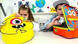 Download ЧЕЛЛЕНДЖ Ланчбокс что мы кушаем в школе!  LUNCHBOX SWITCH UP CHALLENGE! Дети играют в CHALLENGE Mp3 and Videos