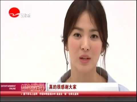 160624 송혜교 인터뷰 Song Hye Kyo Interview 宋慧乔感恩中国粉丝热爱想演强硬角色