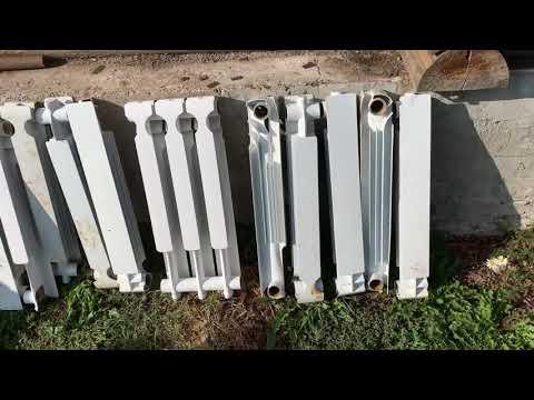 Пригласили перебрать радиаторы люди разморозили систему залили антизамерзающий теплоноситель!