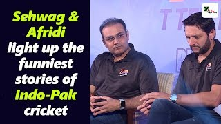 Download Super entertaining! Sehwag and Afridi light up the funniest stories of Indo-Pak cricket Mp3 and Videos