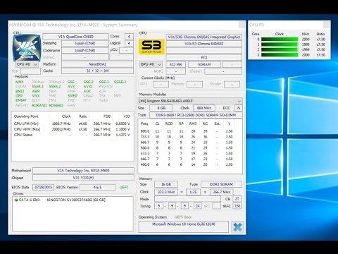 VIA EPIA M920-20Q Play Samsung Oceanic Demo And Youtube Trailer