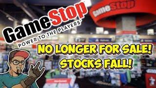 GameStop No Longer For Sale.... Nobody Wants Them!