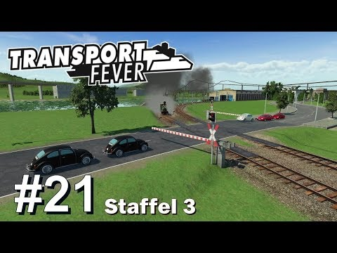 TRANSPORT FEVER S3/#21: Immer dem See entlang [Let's Play][Gameplay][German][Deutsch]