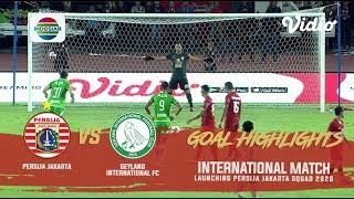 Persija Jakarta (3) vs Geylang International FC (1) | Goal Highlights