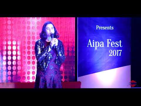 Western classical singing from AIPA student.