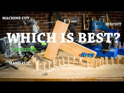 Who is the King of the Butt Joint? | Hand Tool Shootout ft. Kreg Jig & Festool Domino