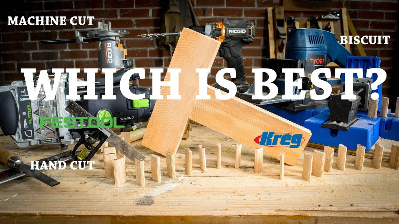 Which Joinery Technique Is The Strongest Ft Kreg Festool Domino