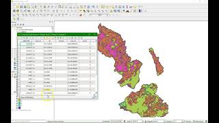Calculate percentage of land use per subcatchment in QGIS 3