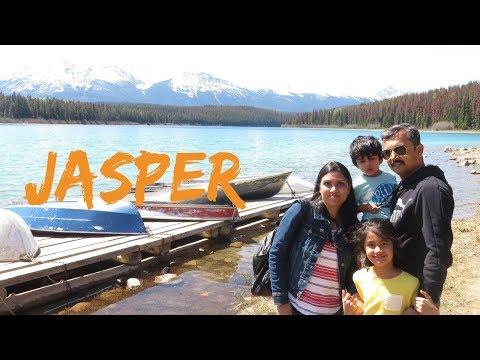 Jasper Vlog II Road Trip II Alberta- Rocky Mountains II Indian Family In Canada