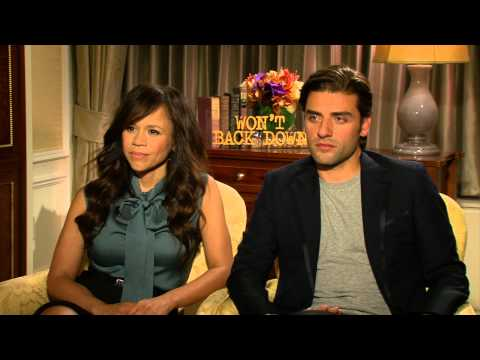 """Interview: Talking """"Won't Back Down""""    With Rosie Perez and Oscar Isaac"""