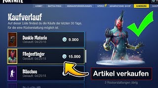 finally SELL SKINS! ✅ get up to 6,000 V-bucks in Fortnite! | WeissStudio