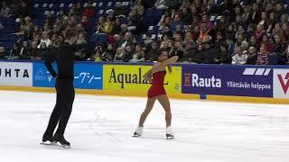 2017 Finlandia Trophy STOLBOVA/KLIMOV FS