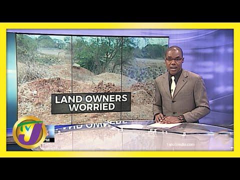 Hurricane Season Exacerbates Land Issue in Jamaica   TVJ News - June 3 2021
