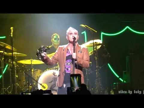 Morrissey-NOVEMBER SPAWNED A MONSTER-Live-Microsoft Theater, Los Angeles-November 1, 2018-The Smiths