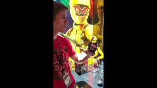 Power Rangers Beast-X Morpher Demo from Hasbro Toy Fair 2019
