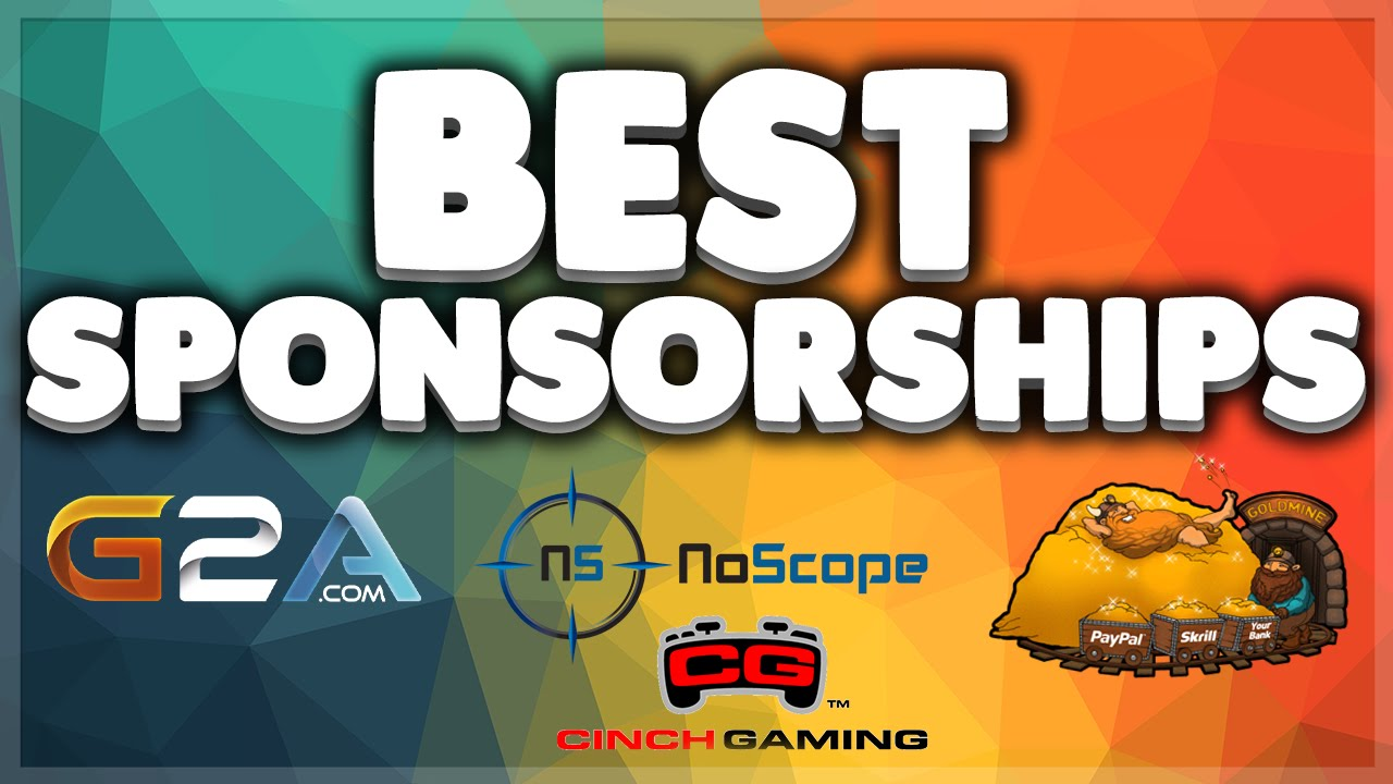 Best YouTube Gaming Sponsorships For Small Channels